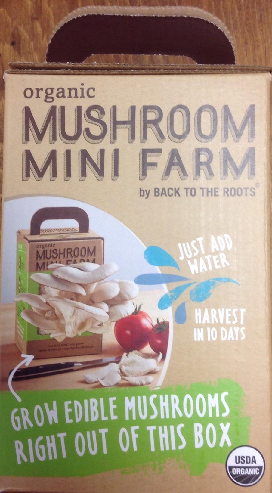 Organic Mushroom Mini Oyster Farm